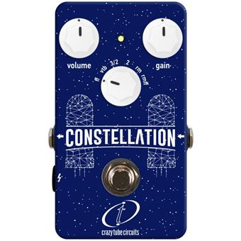 Crazy Tube Circuits Constellation fuzz pedal