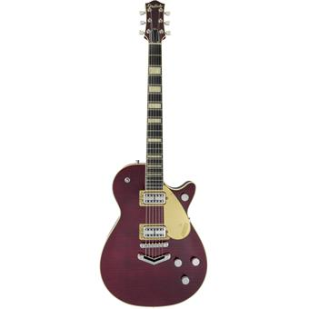 Gretsch G6228FM Players Edition Jet BT Flame Maple Dark Cherry Stain elektrische gitaar