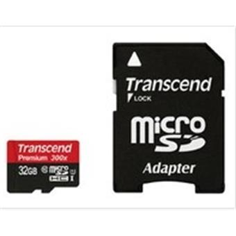 Transcend 32GB Micro SDHC Card Class 10 flash drive/USB-stick/SD-kaart