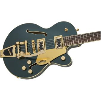Gretsch G5655TG Electromatic Center Block Jr Single Cut Bigsby Cadillac Green semi-acoustic guitar