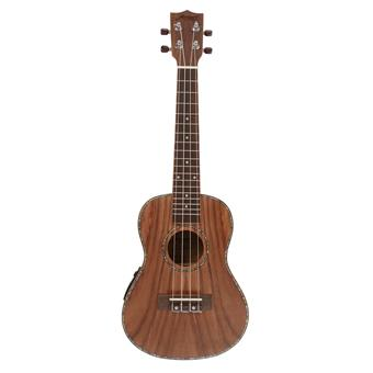 Morgan Guitars UK-C500E Natural Koa ukelele