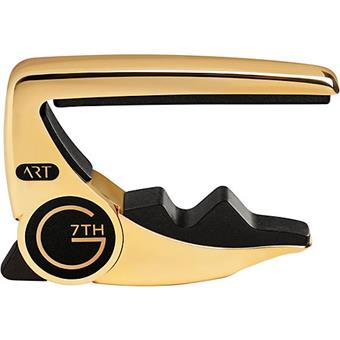 G7th Performance 3 ART Acoustic/Electric Gold capo for electric and acoustic guitar