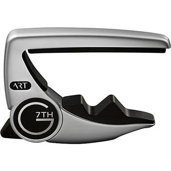G7th Performance 3 ART Acoustic/Electric Silver capo for electric and acoustic guitar