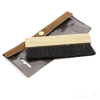 Simply Analog Anti-static Brown Oak Wooden Brush  dj reiniging/onderhoud