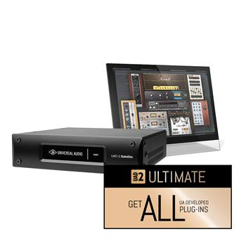 Universal Audio UAD-2 Satellite Thunderbolt - OCTO Ultimate 7 USB audio interface