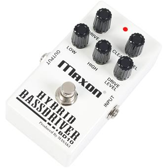 Maxon BD10 Hybrid Bass Driver distortion pedal