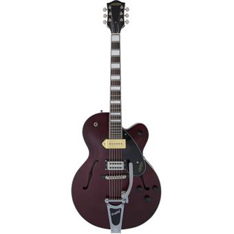 Gretsch G2420T-P90 Limited Edition Streamliner Bigsby Midnight Wine Satin semi-akoestische gitaar