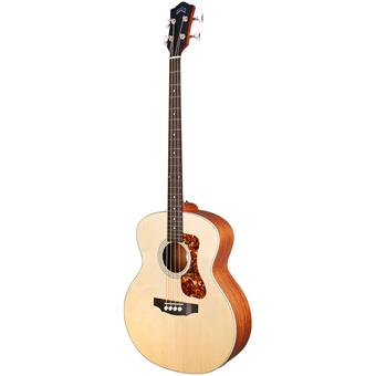 Guild B-240E Natural Satin acoustic-electric bass guitar