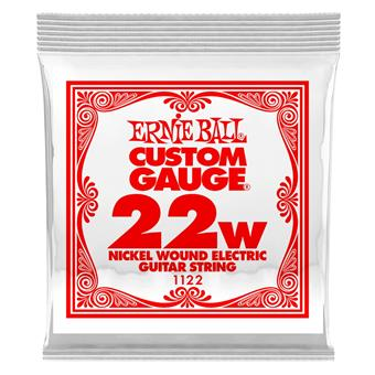 Ernie Ball 1122 - Nickel Wound Electric .022 single string for electric guitar