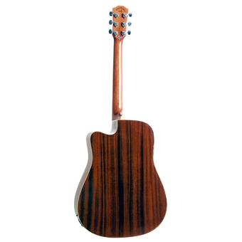Morgan Guitars W120SCE Natural westerngitaar