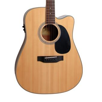 Morgan Guitars W120SCE Natural dreadnought guitar
