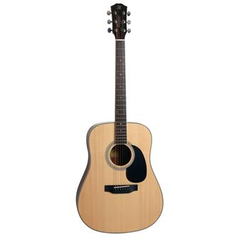 Morgan Guitars W120S Natural guitare dreadnought