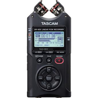 Tascam DR-40X portable recorder