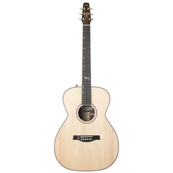 Seagull Artist Studio Concert Hall Natural Anthem EQ acoustic-electric cutaway dreadnought guitar