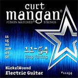 Curt Mangan 11154 Nickelwound Electric Guitar Strings(11-54)
