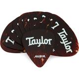 Taylor Celluloid 351 Guitar Picks 12-pack - Tortoise Shell .46mm