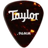 Taylor Celluloid 351 Guitar Picks 12-pack - Tortoise Shell .96mm