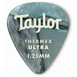 Taylor Premium Darktone 351 Thermex Ultra Guitar Picks 6-pack - Abalone 1.25mm