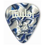 Taylor Premium Darktone 351 Thermex Ultra Guitar Picks 6-pack - Blue Swirl 1.25mm