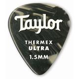 Taylor Premium Darktone 351 Thermex Ultra Guitar Picks 6-pack - Black Onyx 1.50mm