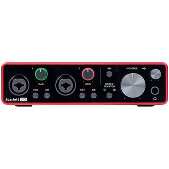 Focusrite Scarlett 3 2i2 USB audio interface