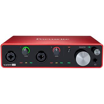 Focusrite Scarlett 3 4i4 USB audio-interface