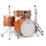 Mapex ST5295FIC Storm Rock 5 Piece Drum Set with Chrome Hardware, Camphor Wood Grain