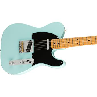 Fender Vintera '50s Telecaster Modified MN Daphne Blue electric guitar