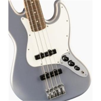 Fender PLAYER JAZZ BASS PF SILVER 4-snarige basgitaar