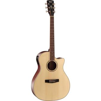 Cort GA-MEDX Open Pore acoustic-electric cutaway orchestra guitar