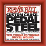 Ernie Ball 2502 Pedal Steel Nickel Wound 10-String E9 Tuning