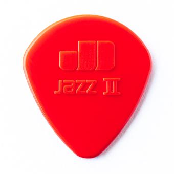 Dunlop Nylon Jazz II 1.18mm Red 6-Pack standard pick