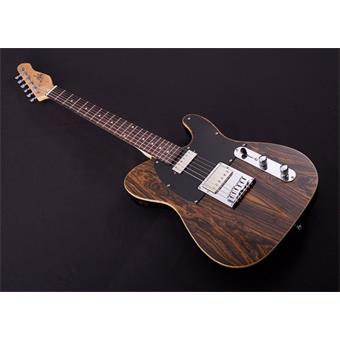 Michael Kelly Guitars Mod Shop 55 Ebony Custom Fralin Striped Ebony electric guitar
