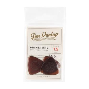 Dunlop Primetone Small Triangle Grip 1.50mm 3-Pack standard pick
