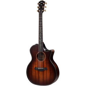 Taylor Builder's Edition K24ce acoustic-electric cutaway orchestra guitar