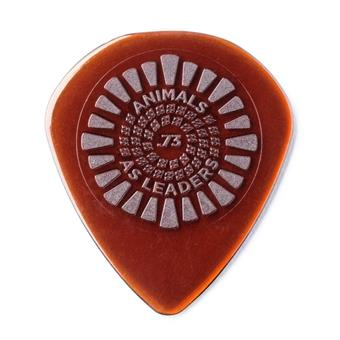 Dunlop Primetone Animals As Leaders Brown 0.73mm 3-Pack standard pick