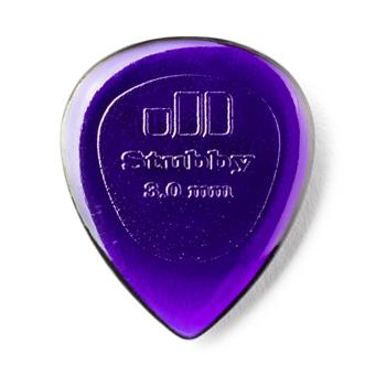 Dunlop Stubby Jazz 3.00mm 6-Pack standaard plectrum