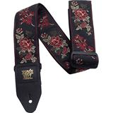 Ernie Ball 4142 Jacquard Strap Red Rose
