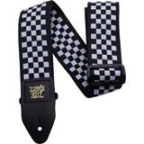 Ernie Ball 4149 Premium Strap Black & White Checkered