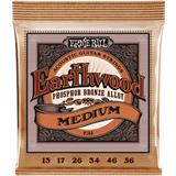 Ernie Ball 2144 Earthwood Phosphor Bronze Medium