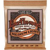 Ernie Ball 2146 Earthwood Phosphor Bronze Medium Light