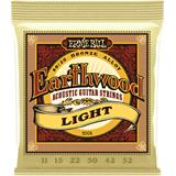 Ernie Ball 2004 Earthwood 80/20 Bronze Light