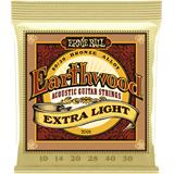 Ernie Ball 2006 Earthwood 80/20 Bronze Extra Light
