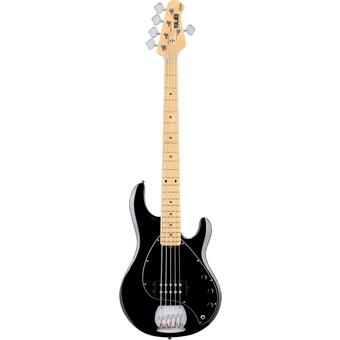 Sterling Stingray Ray5 Black 5/6-snarige basgitaar