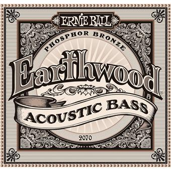 Ernie Ball 2070 Earthwood Acoustic Bass 045 E-Bass Saitensatz