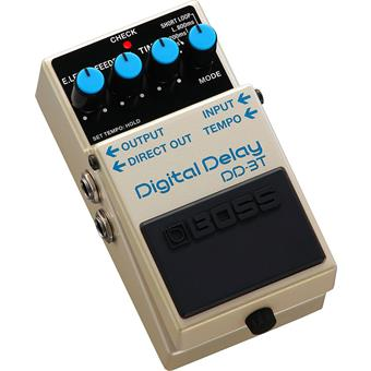 Boss DD-3T Digital Delay delay/echo/looper pedaal