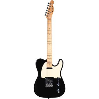 Prodipe TC80MA Black electric guitar