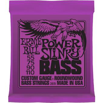 Ernie Ball 2831 Power Slinky Bass Nickel Wound snarenset voor basgitaar