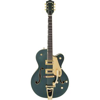 Gretsch G5420TG Limited Edition Electromatic Bigsby Gold Hardware RW Cadillac Green guitare semi-acoustique