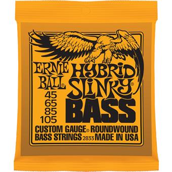Ernie Ball 2833 Hybrid Slinky Bass Nickel Wound 045 bassnarenset
